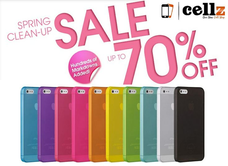Warehouse Clearance - Spring Sale Up to 70% OFF Discount on Cell Phone Cases and Accessories #cellz.com #clearance #warehouse #spring #sale #cellphonecase #promotion