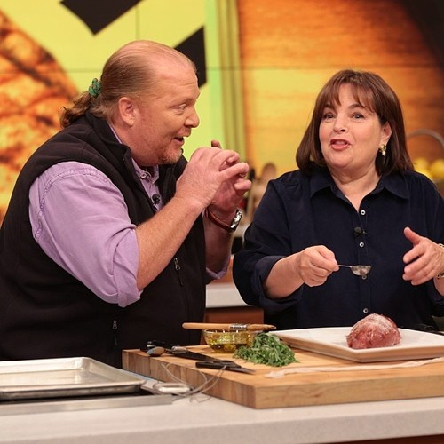 #InaGarten joins #MarioBatali today to teach you everything you need to know about meat! #TheChew