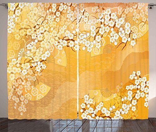 Asian Curtains by Ambesonne, Japanese Cherry Blossom Saku... https://www.amazon.com/dp/B072JK8P71/ref=cm_sw_r_pi_dp_x_-lOnzb0V9CQ1M