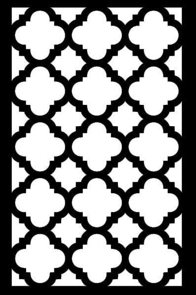 "Wall Stencil Painting Wall Pattern 7.5"" x 9"" Wall Art"