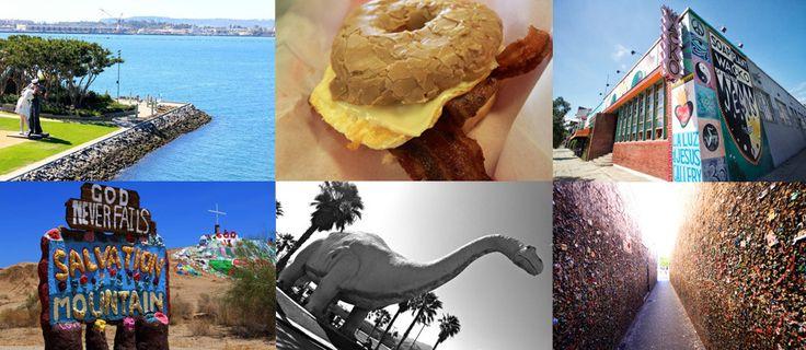 Strange attractions around Southern California Big list