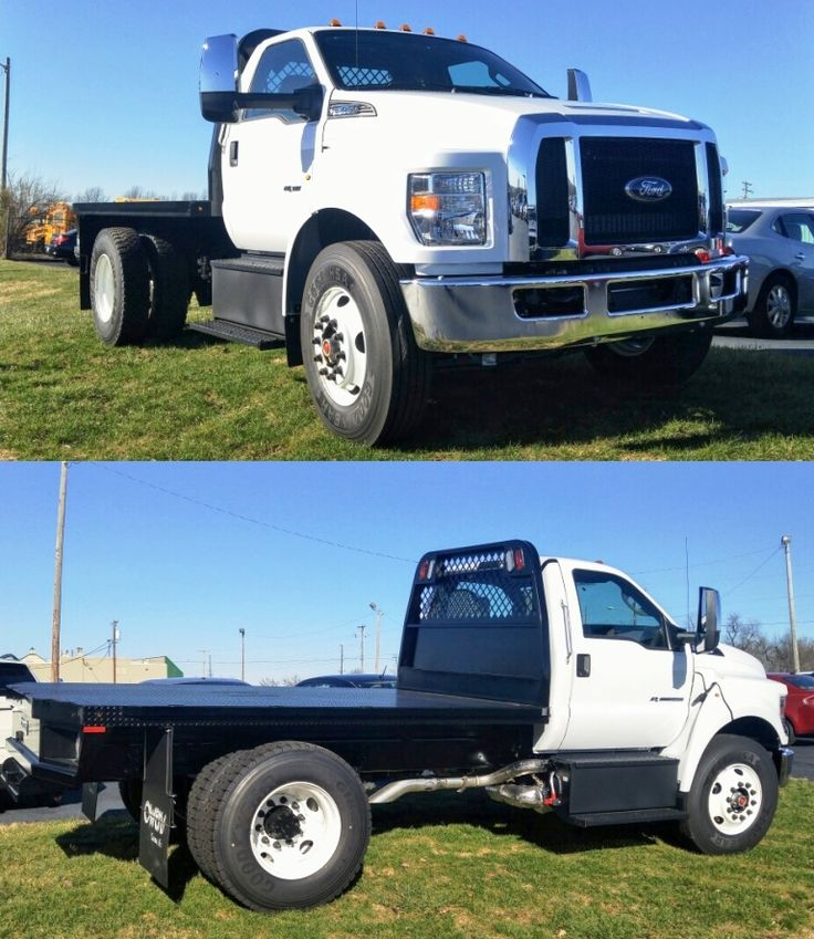 A big thanks to our friends at the Garrard County Water Association in Lancaster for their purchase of this new 2017 #Ford F-650 Super Duty! - Ron Long