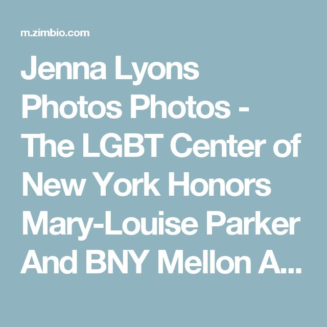 Jenna Lyons Photos Photos - The LGBT Center of New York Honors Mary-Louise Parker And BNY Mellon At Annual Fundraising Dinner - Zimbio