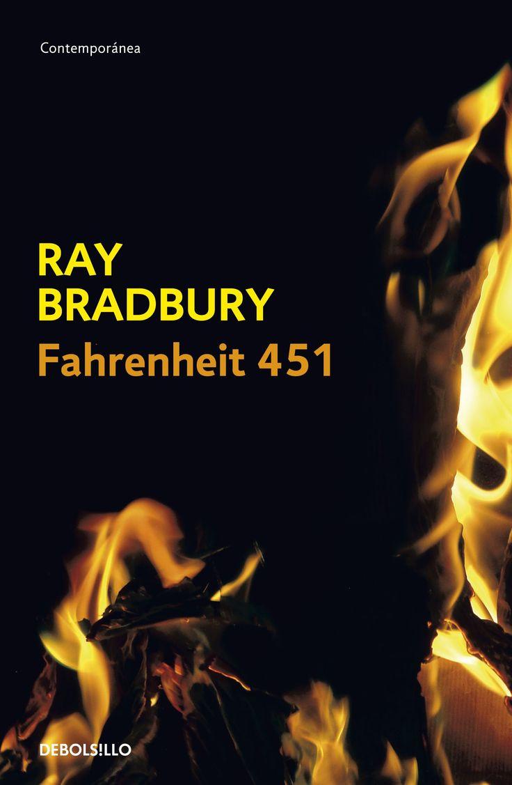 Fahrenheit 451 describe una civilización occidenta lesclavizada por los media, los tranquilizantes y el conformismo. Las pantallas de TV ocupan paredes y exhiben folletines interactivos, unos auriculares transmiten a todas horas una insípida corriente de música y noticias, en las avenidas los coches corren a 150 kilómetros por hora persiguiendo a peatones; y el cuerpo de bomberos auxiliados por el Sabueso Mecánico,rastrea y elimina a los disidentes que conservan y leen libros.