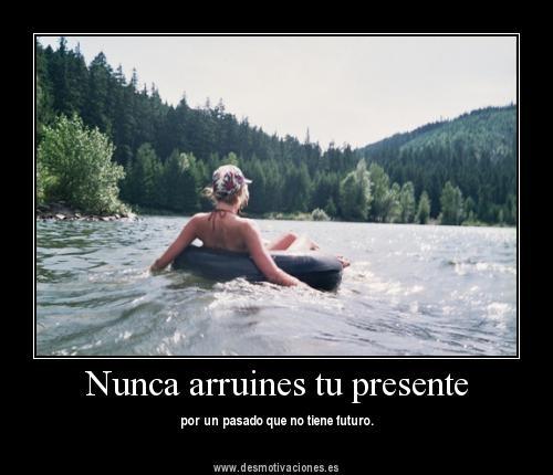 nunca arruines....