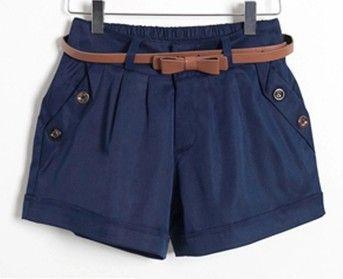 S-5XL Plus Size Mulheres Verão Algodão Casual Shorts Sem Belt Moda Mid-Cintura Sólidos Magro Curto femme