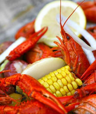 crawfish ... you can probably buy them more cheaply than the fishing licenses, but the camp and adventure are worth the difference.: Boiled Crawfish, Crawfish Miss, Crawfish Parties, Crawfish Boiled, Summer Parties Theme, Crawfish Yum, Crawfish I, 25 Summer, Graduation Parties