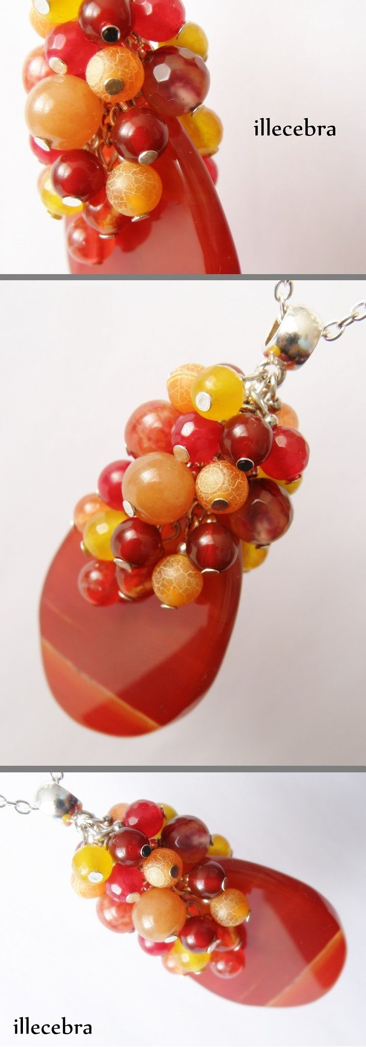 #illecebra #agate #pendant #necklace