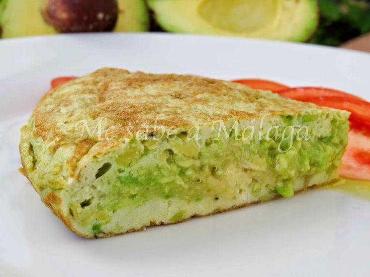 Tortilla de aguacates | Cocinar en casa es facilisimo.com