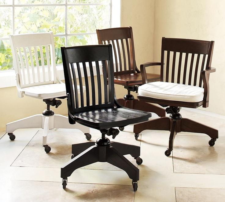 Pottery Barn Look Alikes: Pottery Barn Swivel Desk Chair