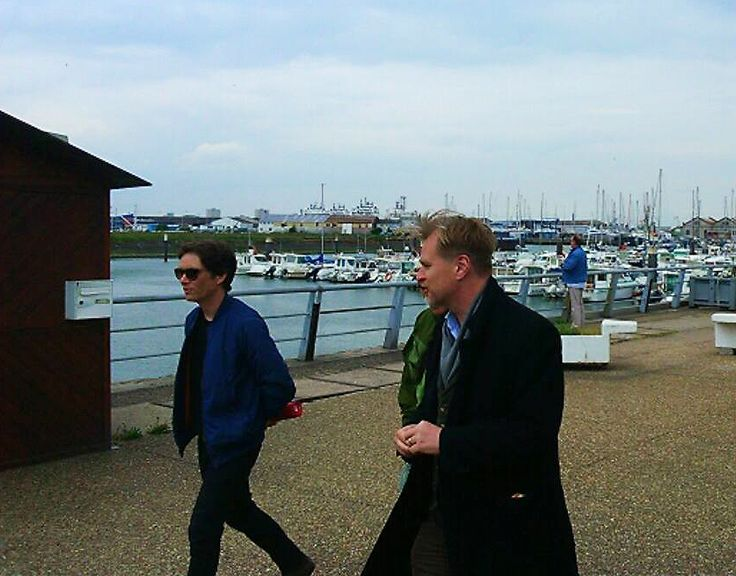 Cillian murphy and christopher nolan met up at restaurant le grand large dunk - Restaurant grand large dunkerque ...