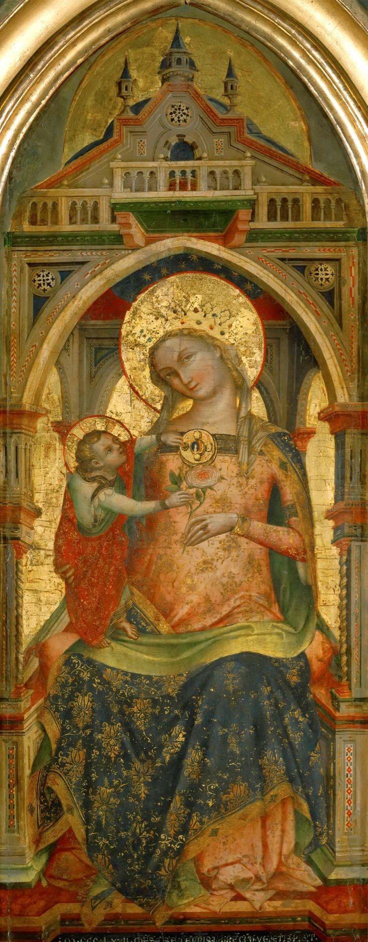 Lorenzo Veneziano - Madonna and Child
