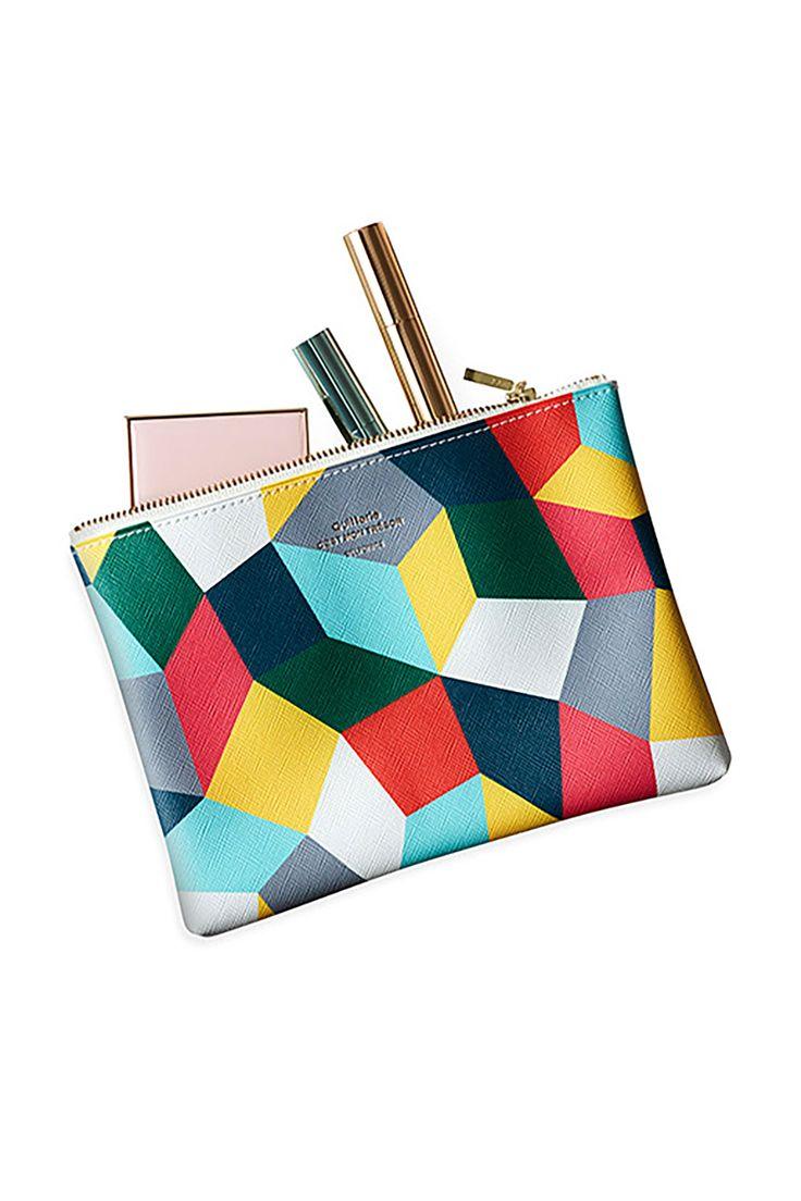 Colorful Zip Bag