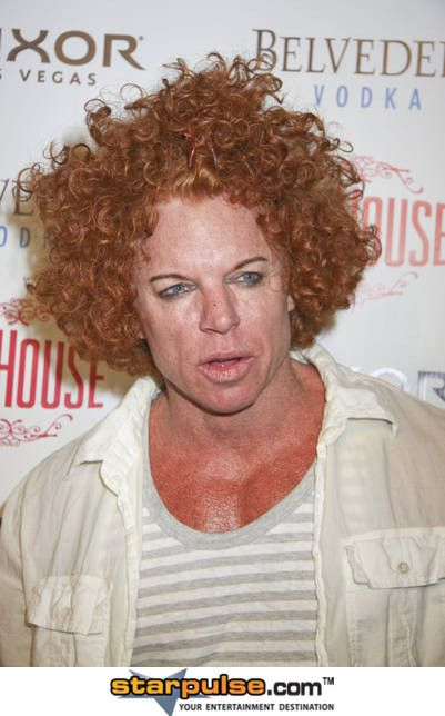 Celebrity Plastic Surgery Gone Bad Carrot Top Always