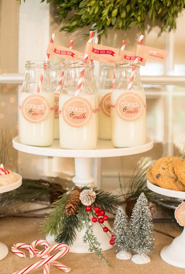 Inspiración: Chocolate y galletas para Santa