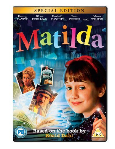 Matilda [DVD] [1996] Sony Pictures Home Entertainment- Multimedia Collection 791.43 DEV(MAT)