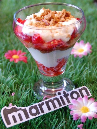 Recette de Tiramisu fraises et speculoos