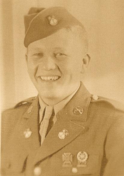 Private Franklin A. Gillim (When stationed at St. Luis Obispo, Calif., 1940's)