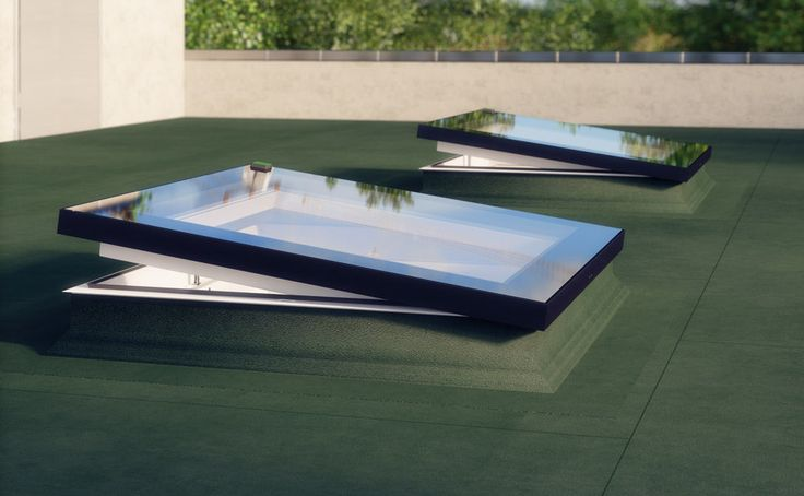 Fakro flat roof windows flat roof windows illuminate the for Type de fenetre de toit
