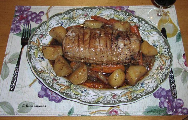 À la soupe!: Rôti de porc à la mijoteuse
