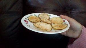 Crispy Microwave Potato Chips