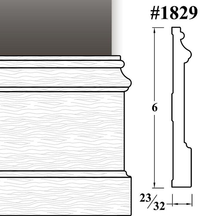 Solid Wood Baseboard Molding | WalzCraft