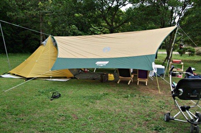 小川張りのセッティングテープ自作方法 張って試した実例集4選 Camp Hack キャンプハック アウトドア キャンプ セッティング