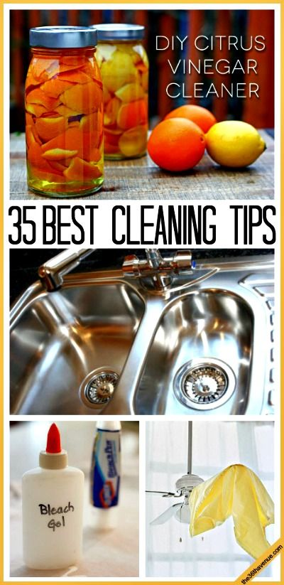 35 Best Natural Cleaning Tips (natural cleaning recipes)