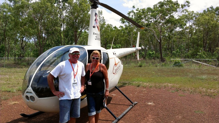 Darwin - uuum not much to do but can recommend the Helicopter Rides!