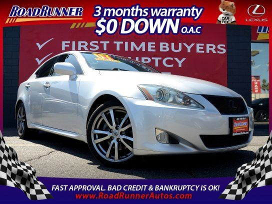 Sedan, 2008 Lexus IS 250 with 4 Door in Canoga Park, CA (91303)