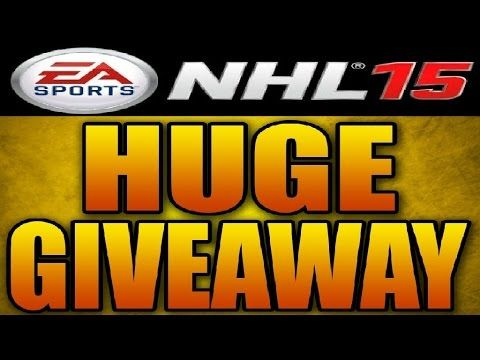 NHL 15 **MY BIGGEST GIVEAWAY OF THE YEAR**