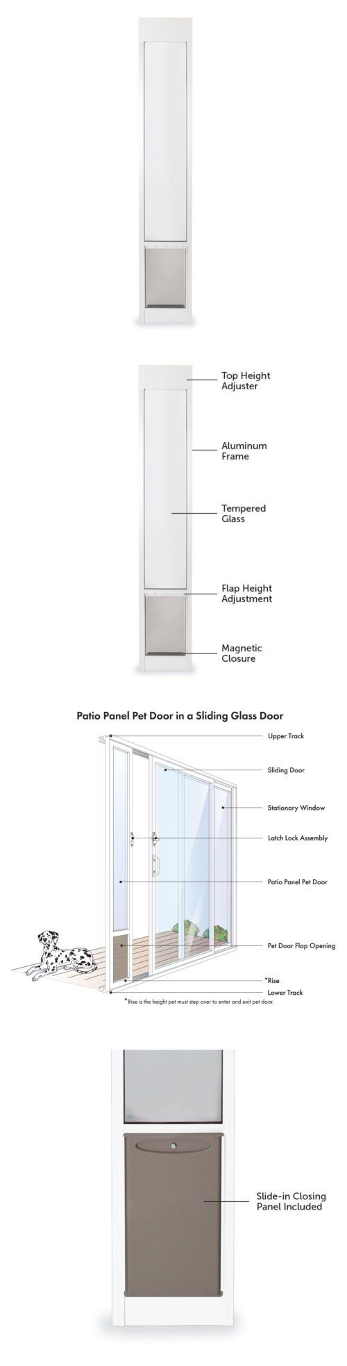 25 melhores ideias de sliding glass dog door no pinterest porta doors and flaps 116379 patio pet door sliding glass dog panel petsafe large aluminum cat eventelaan Choice Image
