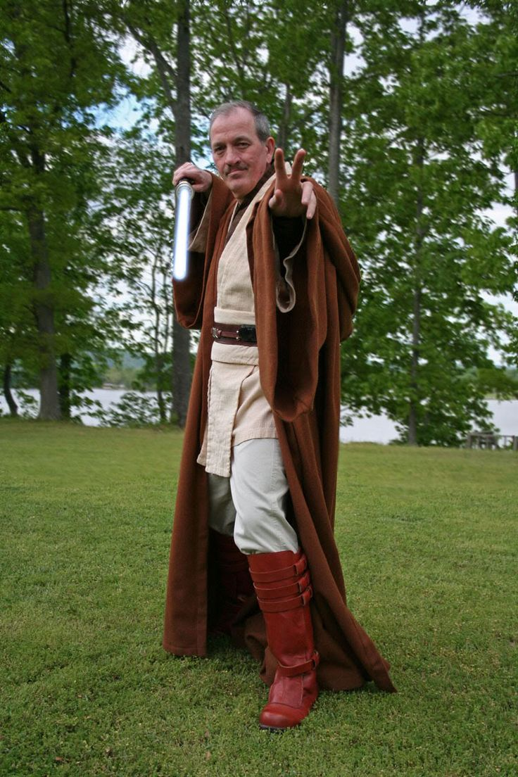 Tutorial on how to make an adult Jedi Robe!