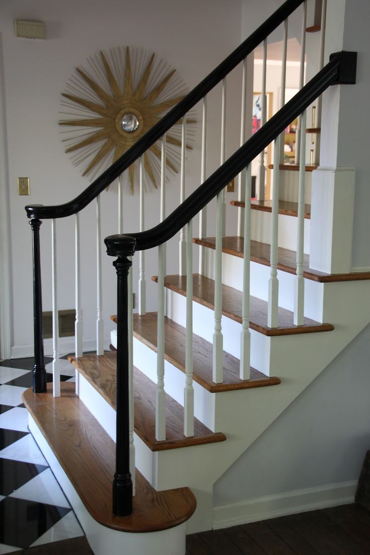 Best 9 Best Black Banisters Images On Pinterest Stairs 640 x 480