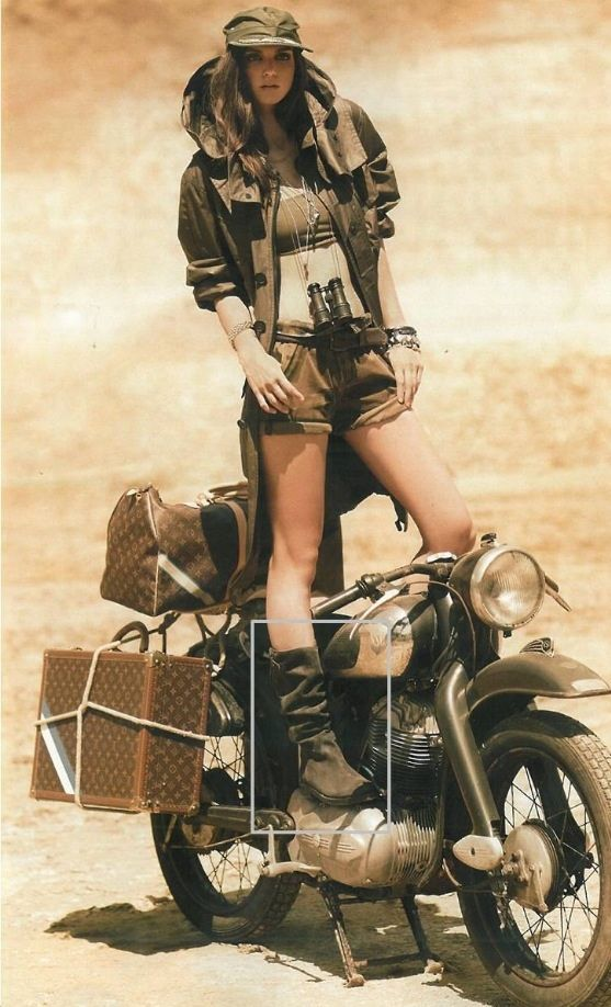 motorcycle touring in style
