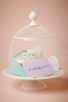 Bhldn Birdcage Envelope Holder $45