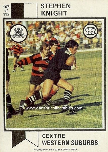 1974 107 Wests Magpies