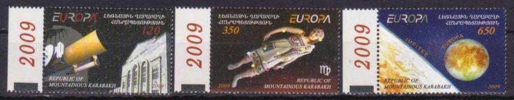 EUROPA ASTRONOMY 2009 SET MNH NAGORNO MOUNTAINOUS KARABAKH ARMENIA R17424
