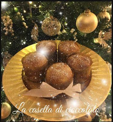 la casetta di cioccolato: Mini Briochettoni brioche che si crede panettone d...