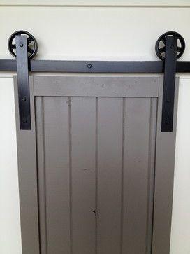 Barn Style Interior Doors | Vintage Sliding Barn Door Hardware - traditional - interior doors ...