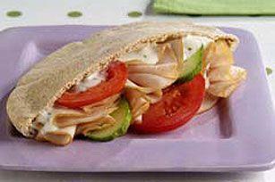Easy Turkey Pita recipe