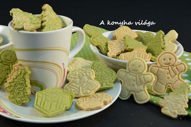 A konyha világa: Háromszínű sütipecsétes keksz