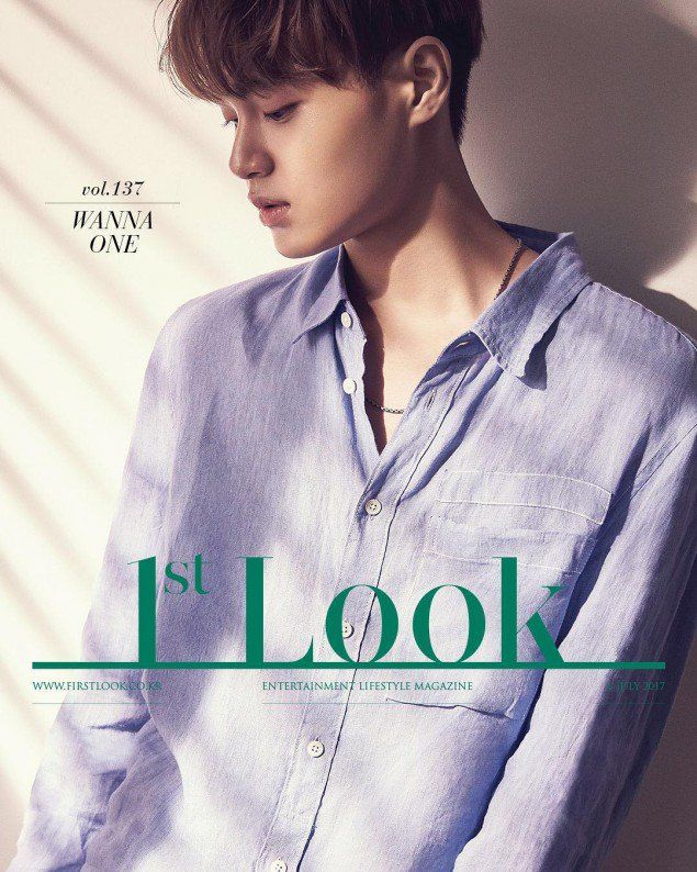 '1st Look' drops individual cuts of Wanna One's first pictorial   allkpop.com