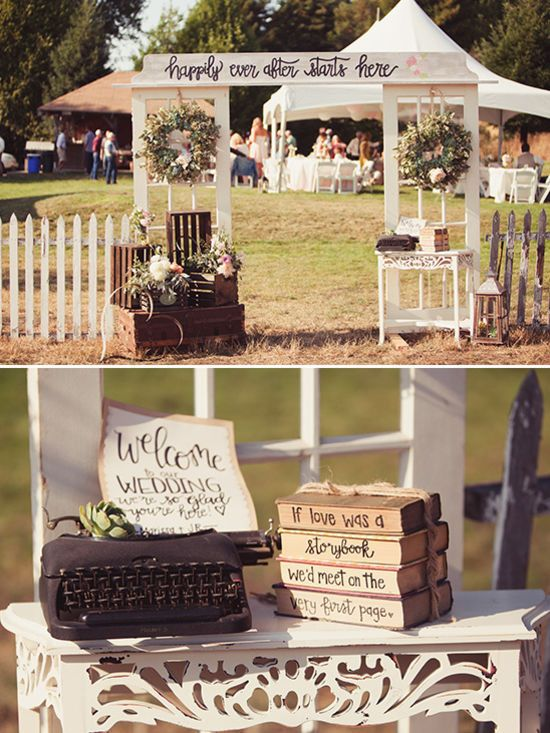 wedding entry decor @weddingchicks