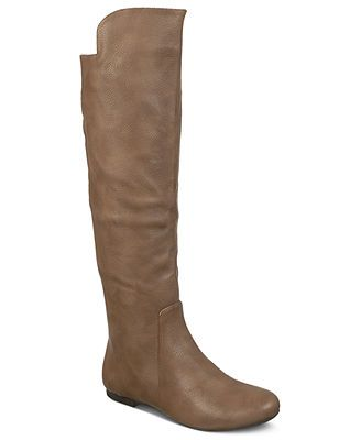 Fergalicious Shoes, Tiara Tall Shaft Boots size 7 in taupe