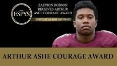 Zaevion Dobson's Death Honored at 2016 ESPYs with Arthur Ashe Courage Award – Heavy.com