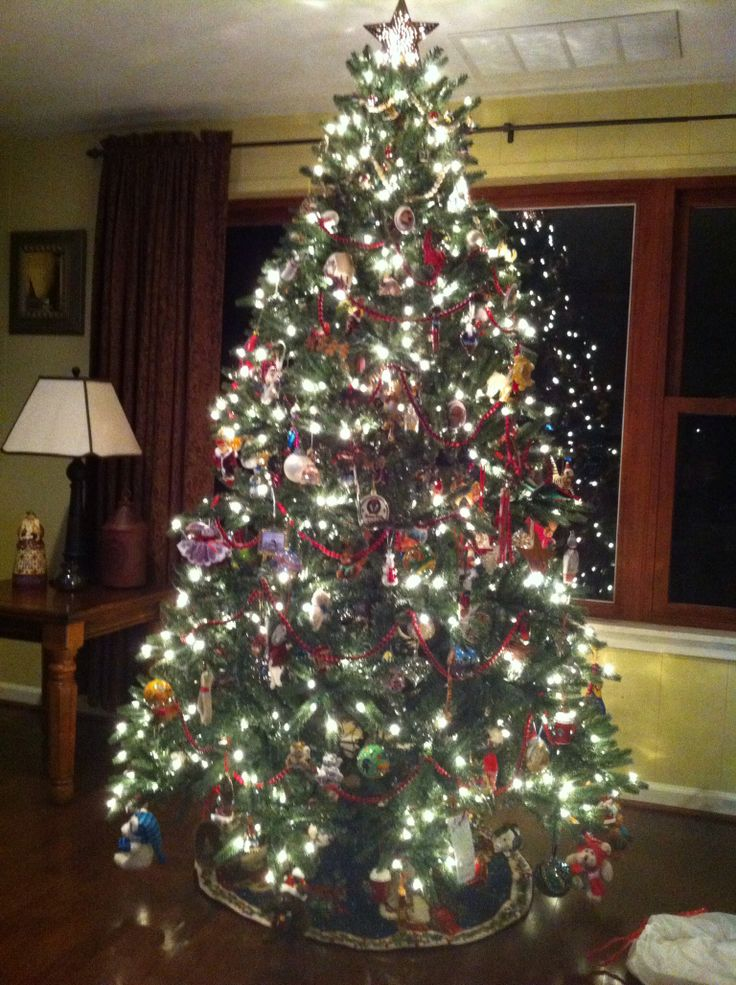 Old fashioned Christmas tree. Why I Love Christmas
