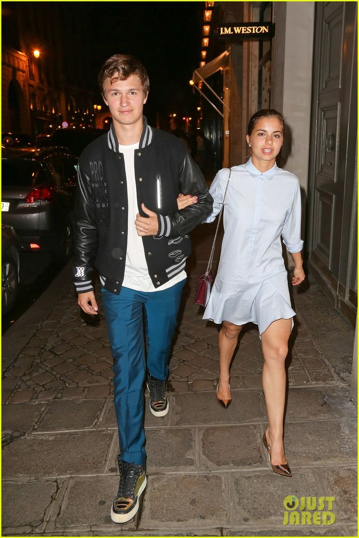from Leon ansel elgort dating now
