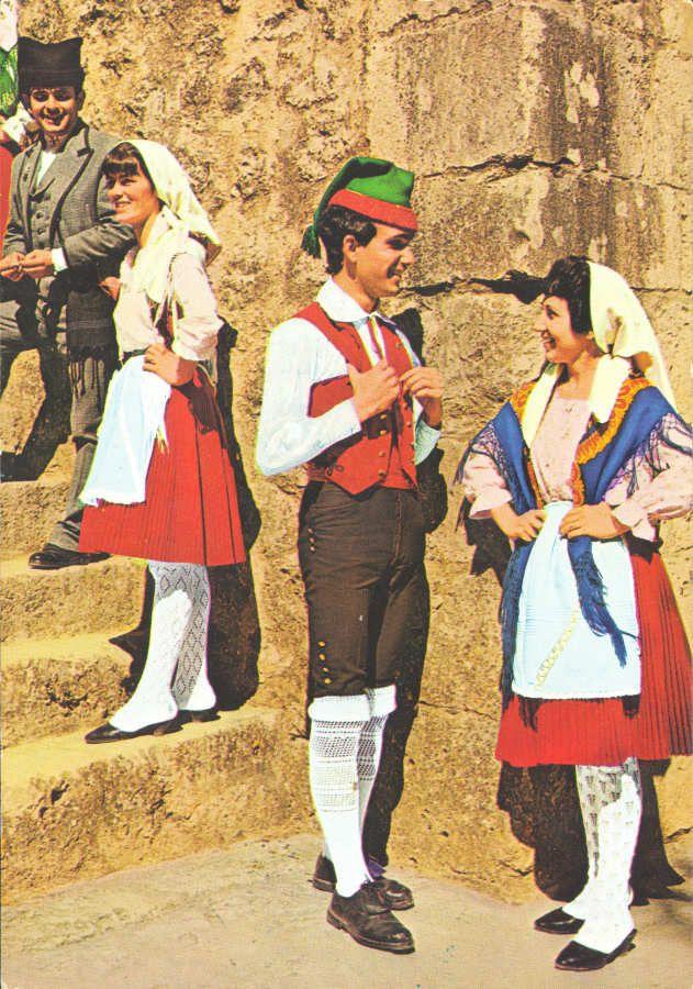 trajes regionais antigos -