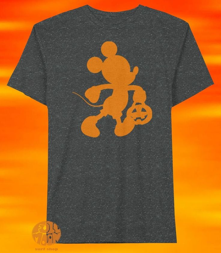New Mickey Mouse Trick or Treat Halloween Mens Vintage T-Shirt #Jem #GraphicTee